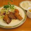 田村町キムラヤ - 料理写真:2015/10/02のランチ「秋鮭のベニエ」です。