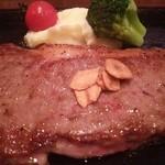 ステーキなぐら - 黒毛和牛特選サーロインステーキ佐賀牛 200g