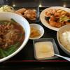 中華料理 都府 - 料理写真:⚫︎酢豚定食→980円  税別   台湾ラーメン変更→+100円