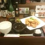 Tori喰 - 鶏天ランチ ¥700(税込)