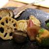 華丸吉日 - 料理写真:さんま、しらこ、レンコンなど