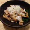 焼鳥うなぎ鳥久 - 料理写真:鶏皮の辛子和え