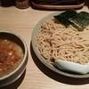 ボノボ - 料理写真:(冷)渡り蟹のつけ麺(大盛)880円