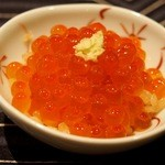 鮨座 醤の - 料理写真:いくら