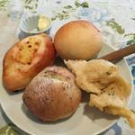 スワロウテイル - 週替りランチのパン