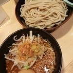 どてちん - つけ麺(大)+味玉