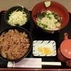 そば茶屋文六 - 料理写真:牛丼セット880円