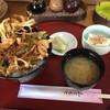 和食処司 - 料理写真:大盛りかき揚げ丼。ボリューム満点(≧∇≦)