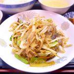 中華酒膳 幸龍 - 日替わり定食 ※2015.10.2 豚肉のピリ辛山椒炒め