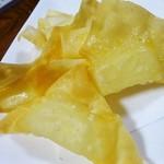 天海 - 揚げチーズ450円