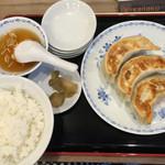 42642307 - 餃子定食
