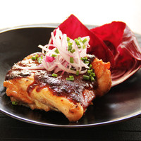 大山鶏の香味味噌焼き