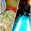 沖縄食彩 がなはん - 料理写真:真っ白貝殻とブルーライトで沖縄気分上々!
