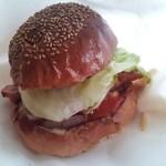 バーベキューキムラ - 燻製ベーコンチーズバーガー