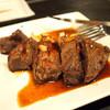 はんなり - 料理写真:国産赤身ステーキ