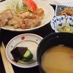 いまきん食堂 - 若鶏の塩焼き定食900円