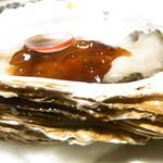 旬菜旬魚 きくの - 生牡蠣のポン酢ジュレ☆♪