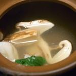 旬菜旬魚 きくの - 松茸と鱧入り☆♪