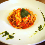 イタリアンレストラン ピーノ - モッツアレラチーズのトマトソーススパゲティ ランチA 1,700円