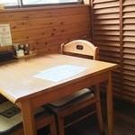 いのまる - テーブル席