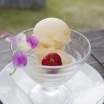 fuu cafe - アセロラアイスクリーム