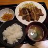 やまや - 料理写真:じっくりたれ漬け 豚しょうが焼き定食(\1,000)