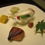 旅館さかや - 料理写真:前菜の数々。