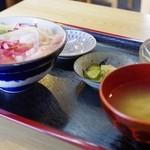 秋刀魚 - よくばり丼ランチ