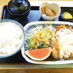 定食専門店いててや - チキンエスカロップ定食¥865(税込)☆♪