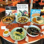 ホテルクレメント徳島 - 朝食ブッフェ(徳島のローカルフード・地元の食材を使った料理のコーナー)(2015年9月)