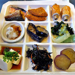 ホテルクレメント徳島 - 朝食ブッフェ(自分が取った料理)(2015年9月)