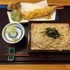 手打そば かのん - 料理写真:天然海老の天ざる更科そば、1300円です。