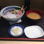 鈴木水産 - おまかせ丼 1500円