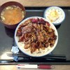 本格炭処 たまや - 料理写真:炭焼ぶた丼650円+ごはん大盛50円