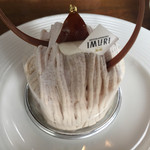 IMURI Cafe - モンブラン。