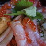 おけしょう鮮魚の海中苑 - 料理写真:(2015/09/26)海鮮丼(海)up