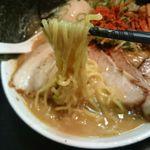 晴レル屋 - 濃厚赤の麺 辛味噌麺リフト