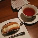 神戸風月堂 - ふんわりオムレット 紅茶と一緒に♪