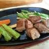 神戸のあかり異人館 - 料理写真:特選和牛ステーキセット・120g(2500円→1500円) ステーキ