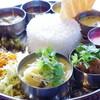 KALA - 料理写真:ランチミールスにノンベジカレー2品