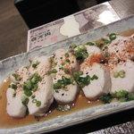 串駒 - 鶏胸肉の蒸し物