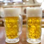 和食れすとらん 天狗 - 生ビール