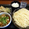 武蔵野うどん竹國 - 料理写真:肉汁うどん中盛(650円)と食べ放題(200円)