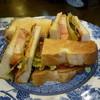 グロヴナーカフェ - 料理写真:BLTサンド