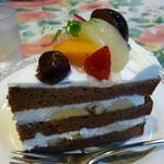 グロヴナーカフェ - ケーキ