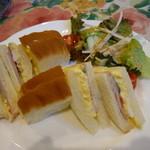 グロヴナーカフェ - サンドイッチセット