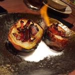 炉とマタギ - 焼き玉葱