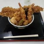金子半之助 - 江戸前天丼(1050円)