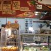 牛小屋のアイス - 料理写真:店内