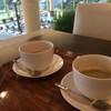 トスティーナ - ドリンク写真:ハウスコーヒー(S)と風景 2015/10/10訪問
